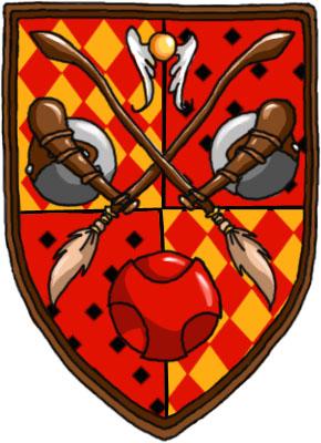 Gryffindor Quidditch Shield by highway woman