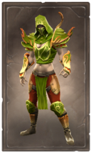 Stinging poisonleaf armor
