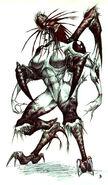 Dark Maiden Concept 1 Colour