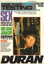 ONE TWO TESTING Magazine Sep 1984 Duran Duran Julian Cope Eddy Grant wikipedia