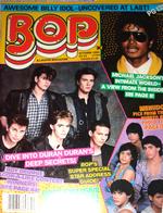 Bop magazine duran duran 1984 october