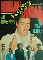1 duran duran today magazine