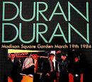 Madison Square Garden: March 19th 1984