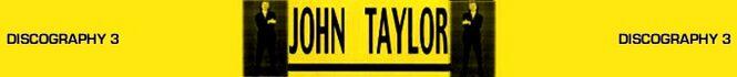 John taylor discography wikipedia duran duran collection QQ