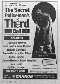 The Secret Policeman's Third Ball wikipedia duran duran lou reed