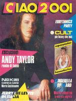 Ciao 2001 magazine italy wikipedia duran duran andy taylor guitarist