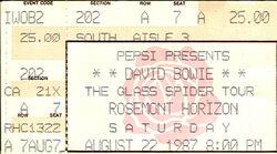 1987-04-22 David Bowie Chicago duran duran
