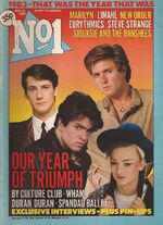 1 no.1 magazine pop duran duran december 31 1983