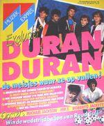 Muziek Expres No.10 1984 magazine wikipedia duran duran lesa woolley tesco new oscott