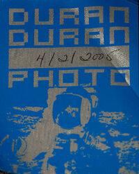 Duran duran pass 2005 duran Wachovia Spectrum, Philadelphia