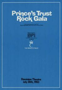 Prince's trust rock gala programme 1983 dominion theatre duran duran dire straits wikipedia