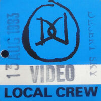 Desert sky duran duran local crew pass