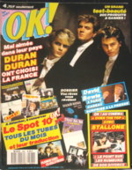 1 - 586 OK AGE TENDRE 1987 DURAN DURAN magazine