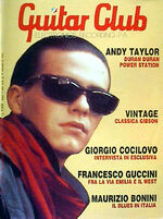 GUITAR CLUB NR 11 ANNO II NOVEMBRE 1985 ANDY TAYLOR (DURAN DURAN POWER STATION) magazine wikipedia collection discography