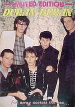 Limited edition music magazine no.11 duran duran 1980s