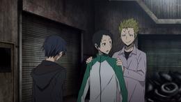 Blue Square Holds Mikado Back