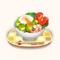 Avocado Salad Bowl with Poached Eggs (TMR)