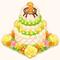 3-Year Anniversary Party Cake (TMR)