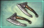 Twin Throwing Axes - 2nd Weapon (DW8)
