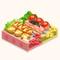 Skewer Plate - Cheese & B-Grade (TMR)
