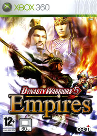 Dynasty Warriors 5 Empires Case