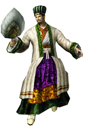 File:Zhuge Liang Render (DW2).png