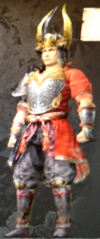 Rival Warlord's Helmet (Kessen III)