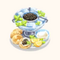 Caviar Blini with Sauce (TMR)
