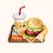 Teriyaki Udon Burger (TMR)