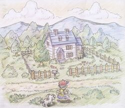 Mother 2 Concept Art