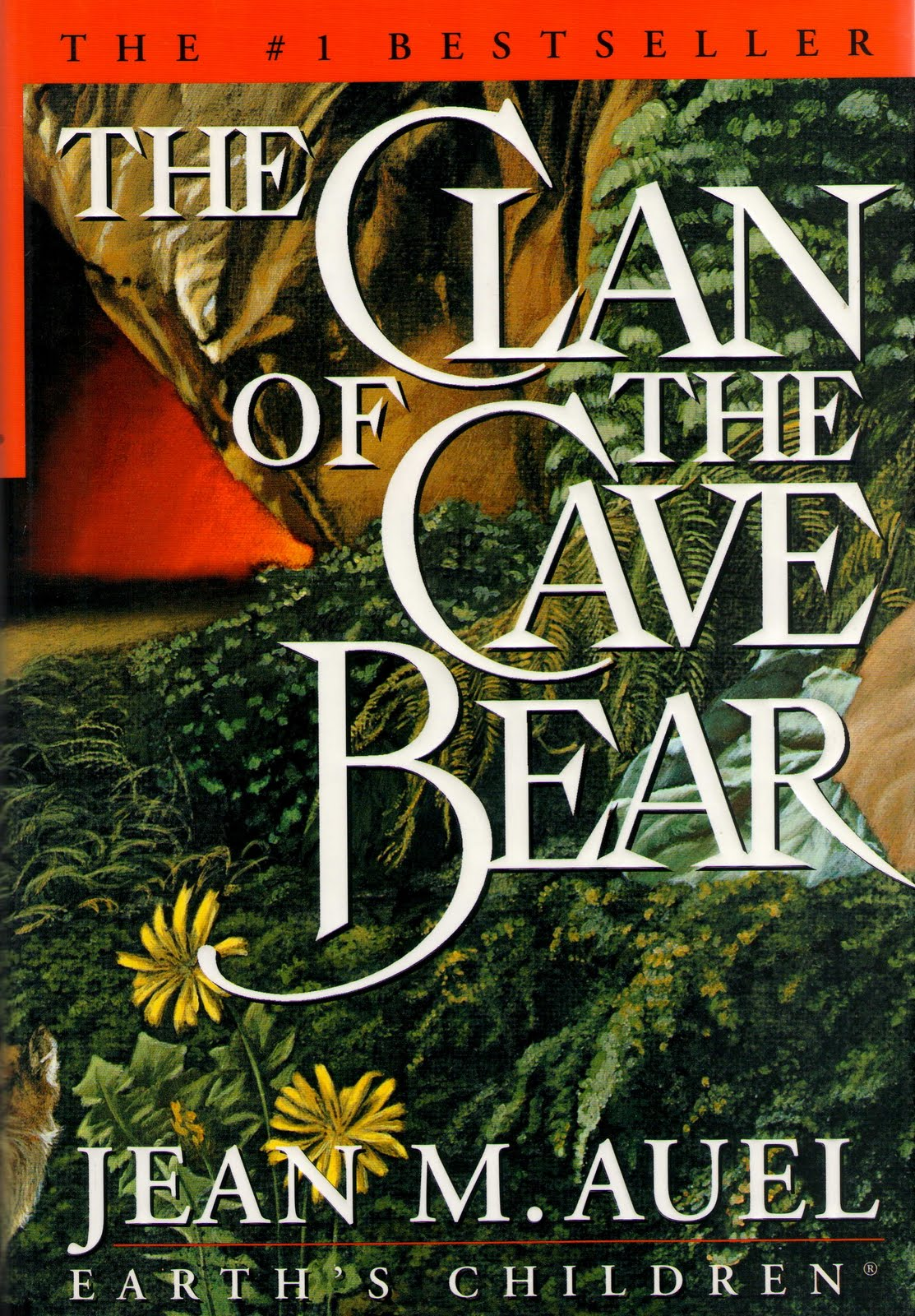 Image result for clan of the cave bear book cover