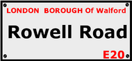 Rowell Road, Walford