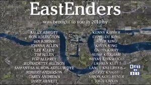 EastEnders 2010 End of Year Credits (27 December 2010)
