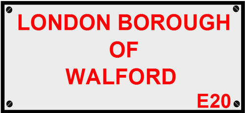 Walford Sign