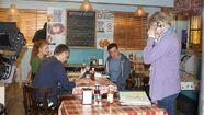Daniel Coonan's first week on EastEnders! 1