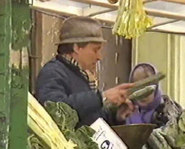 Easties pete on stall 4 feb 1988