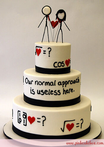 Xkcd weddingcake