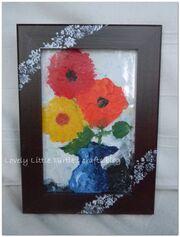 Decorate a frame