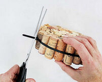 Craft-ideas-making-coaster-used-wine-corks-5