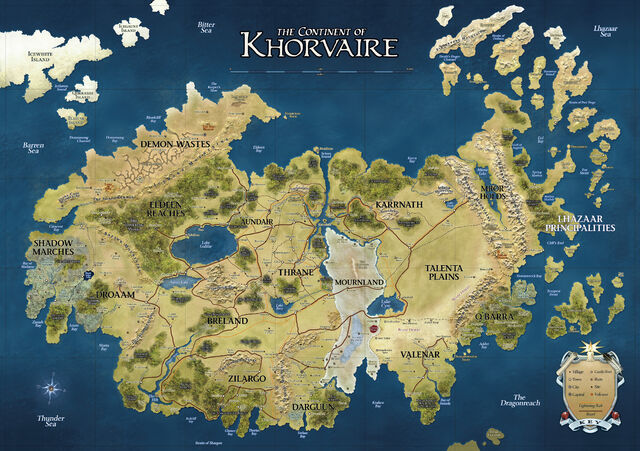 File:D&D - 4th Edition - Eberron Map Khorvaire.jpg