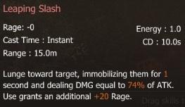 S Leaping Slash