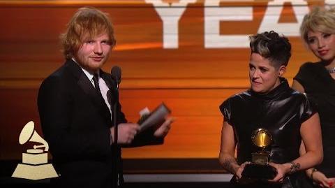 Ed Sheeran Song of the Year 58th GRAMMYs