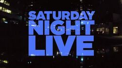 Saturday Night Live (Season 38 Titlecard)