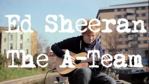 Ed Sheeran - The A Team Acoustic
