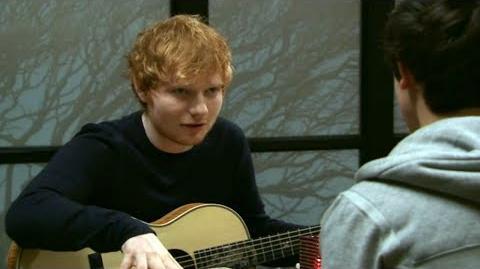 Ed Sheeran makes a Shortland Street cameo