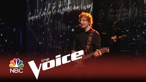 "The Voice 2014 - Ed Sheeran ""Thinking Out Loud"""