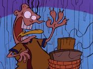 'AHHHH!!! SPLINTERS!!!'
