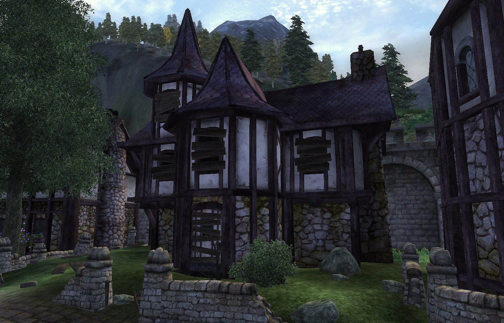 Abandoned house cheydinhal elder scrolls fandom for Houses images pictures