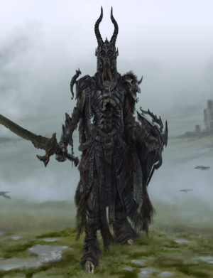 Detail of Draugr Concept Art