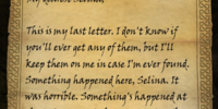 A Letter to Selina IV